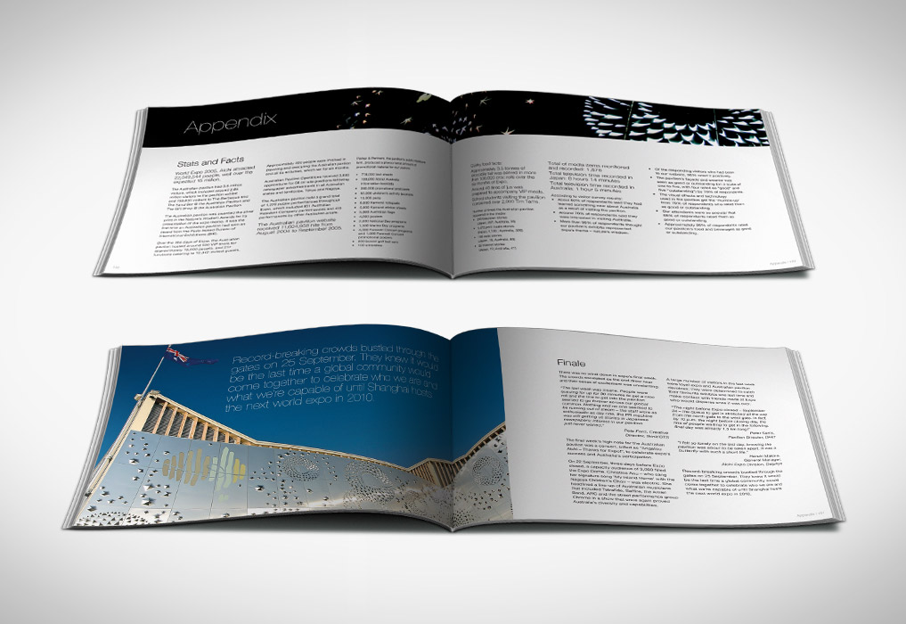 Expo Book Interior Pages