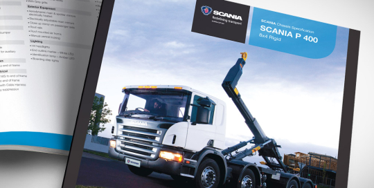 Scania Specification Sheets