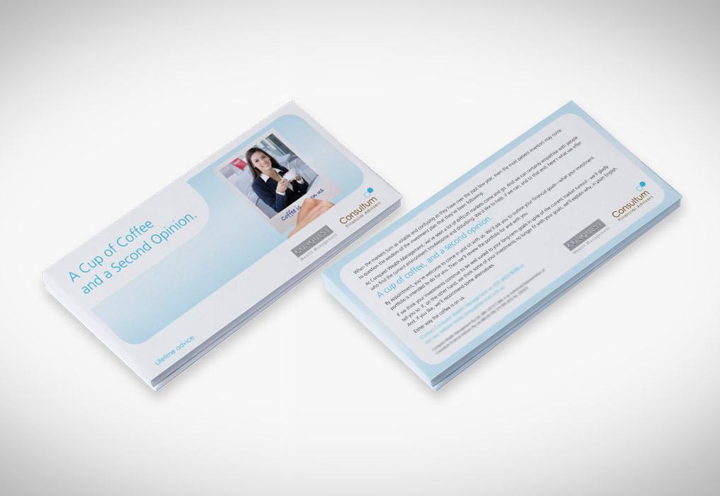 Consultum DL Flyer Sample