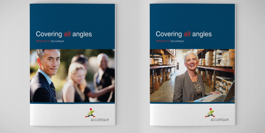 Accuteque Brochure Covers