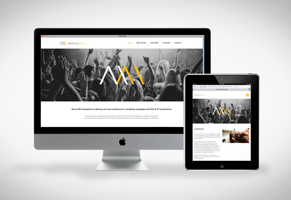 Music Mill Website
